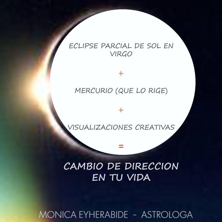 <<Los ECLIPSES representan CAMBIOS>> Sabado - 12/9 15hs - SEMINARIO DE MERCURIO ---> el Planeta de la comunicación, el Trabajo y la Inteligencia.. #astrologia #astrology #mercurio #virgo #eclipse
