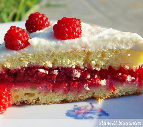 Frambuazlı Pasta by hunerlibayanlar@yahoo.com, via Flickr