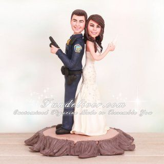 police couple wedding cake toppers 17 best images about careers cake toppers on 18669