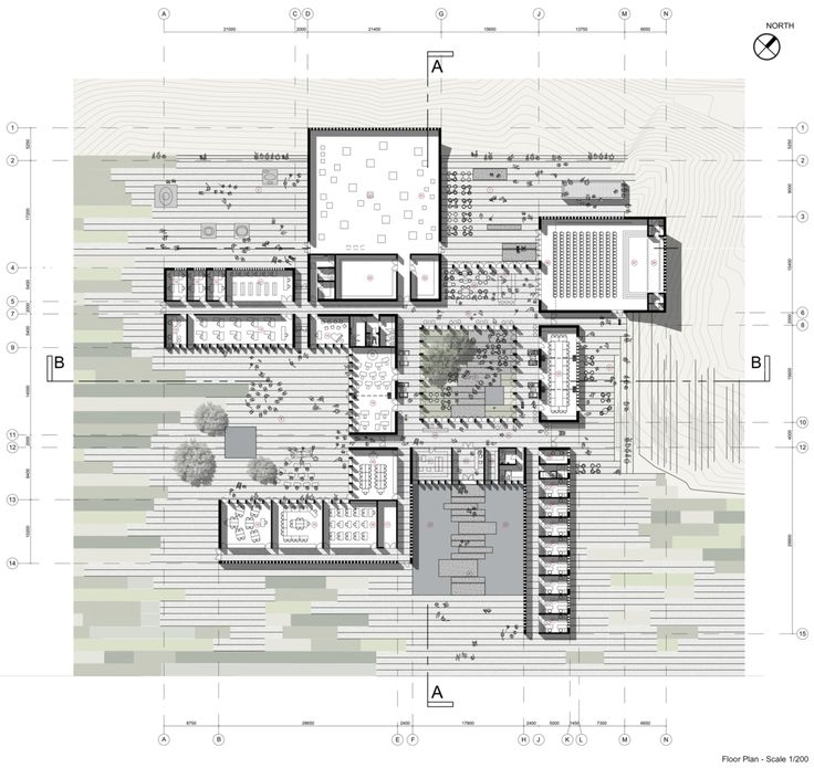 874 best archi plan images on pinterest architecture Architectural floor plans