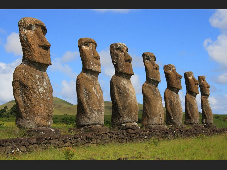 Moai - Ile de Paques