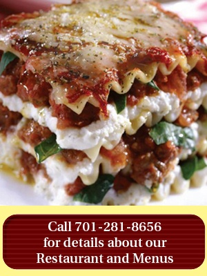 SANTA LUCIA: For three generations Santa Lucia Pizzeria has provided patrons from the Fargo, ND community with homemade Italian and Greek specialties.  Really EVERYTHING on the menu is spectacular!  FAVE: Moussaka