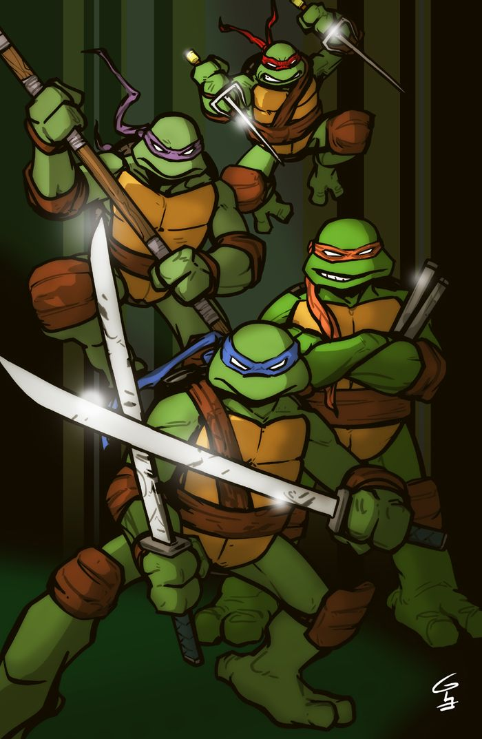 17 Best images about « Ninja Turtles » on Pinterest | Chibi, The muscle and Minis