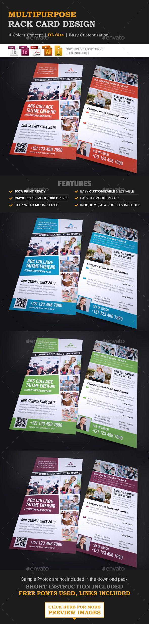 78 best Design // Rack Cards images on Pinterest | Brochure design ...