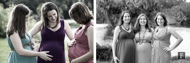 © Favorite Photography | Maternity Pictures / Cute Maternity Photos / Maternity Picture Ideas / Pregnant Sisters