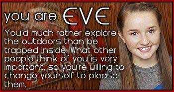 Which last man standing character are you I'm eve