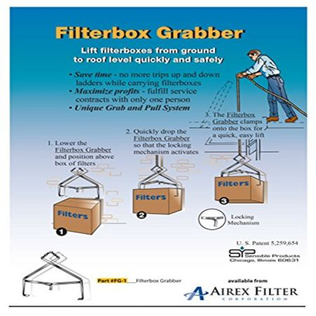 Hvac Filter Box Grabber A 'Must-Have' Tool for All Hvac Maintenance Technicians!