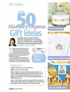 50 Nursery Rhyme Gift Ideas 1/2 Cross Stitch Crazy  Issue 180 September 2013  Saved