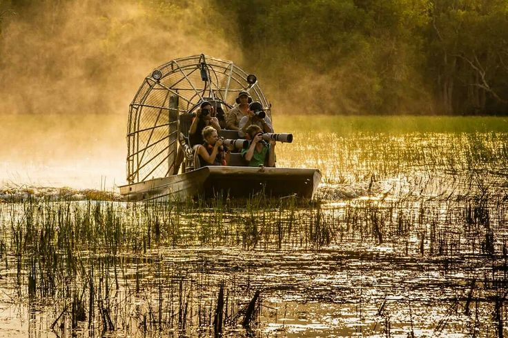 Photography safari on air boats #bamurruplains #northernterritory