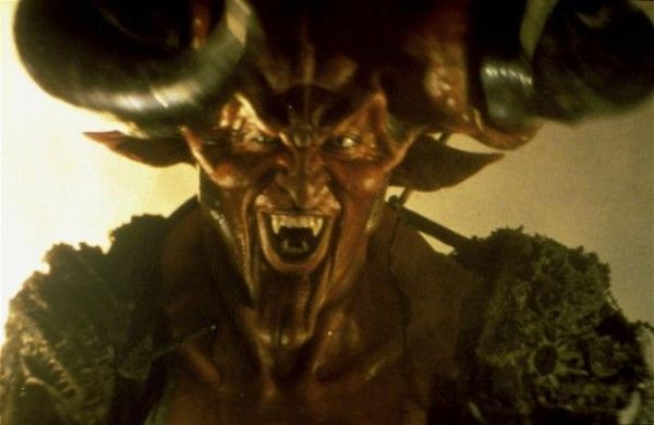 Darkness, from the movie, Legend (1985), Force of Evil - played by Tim Curry