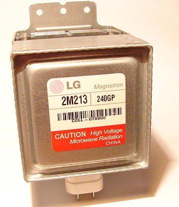 Магнетрон 2M213 для микроволновой печи (СВЧ) LG MAGNETRON 700W 2M213-240GP LG 280MA 3,05-3,95V FCC MS-2022G-01 Партномер 6324W1A004B