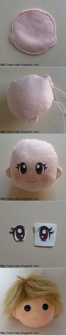 Нуну жизнь: Простые войлочные куклы