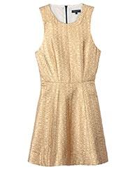 rag & bone Gold Renard Dress