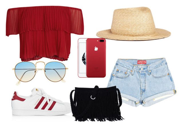 """été #2"" by anissaa-94 on Polyvore featuring mode, Keepsake the Label, adidas et yunotme"