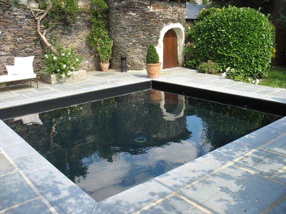 17 meilleures id es propos de liner pour piscine sur for Liner noir pour piscine