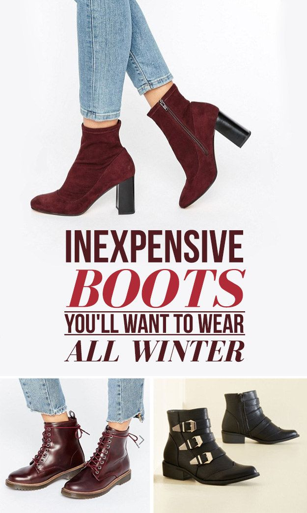 27 Inexpensive Boots You'll Want To Wear All Winter #timbeta #sdv #betaajudabeta