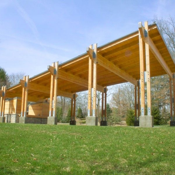 Glulam 3 Creec Timber Architecture Wooden