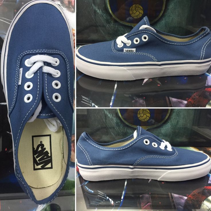 Blue vans . All size available. For online-order visit Instagram @ fabulous_store_c.town or what app on 9634268341