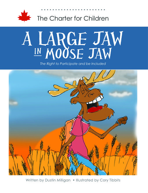 The passionate and musical moose Noah is not allowed to participate in Moose Jaw Idol – all because his jaw is too big! This story seeks to teach children about the right to equal treatment and freedom from discrimination on the basis of disability.