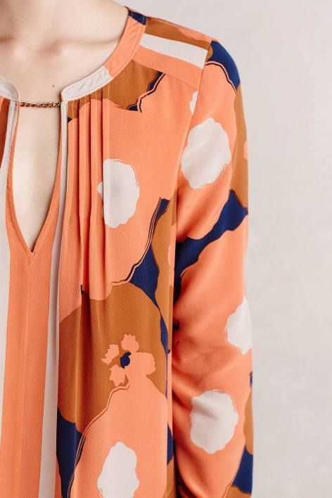Nona Silk Tunic Dress by Tracy Reese | Pinned by topista.com