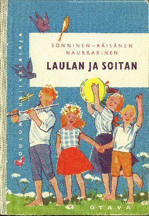 Kansakoulun laulukirjani. Ja laulaa tykkäsin jo tuolloin! My songbook in the school...