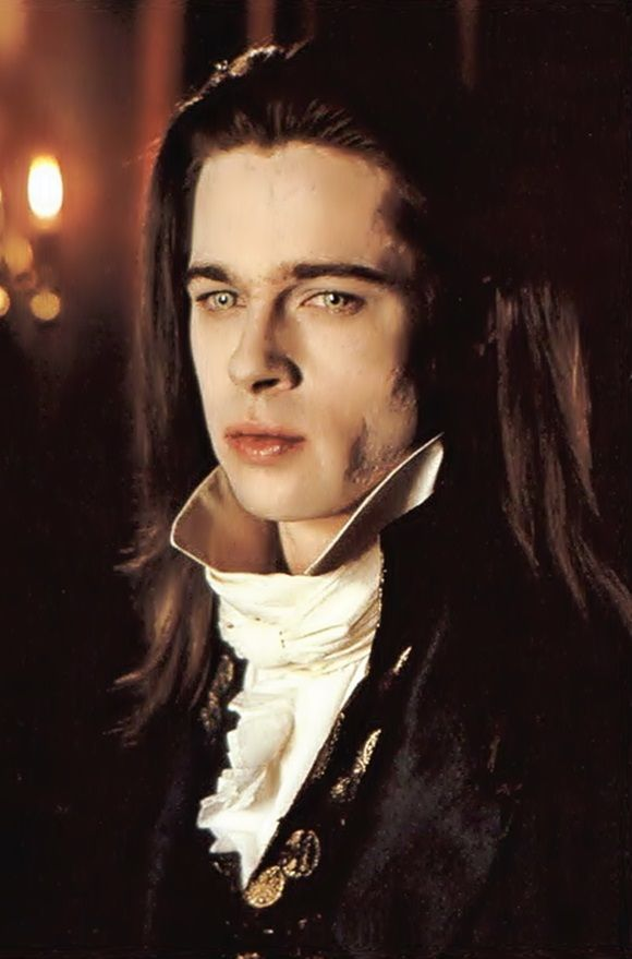 BRAD PITT as Louie in Interview with A Vampire ★ Year: 1992 ★ Both Brad Pitt & Tom Cruise's performance's as Vampire's was phenomenal. And of course, Brad looked BEAUTIFUL throughout the movie.