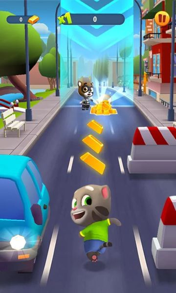 Talking Tom Gold Run v1.1.0.111 [Mod] Apk Mod  Data http://www.faridgames.tk/2016/09/talking-tom-gold-run-v110111-mod-apk.html