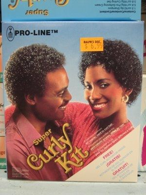 Jheri Curl Kit....These were just awful! :-D
