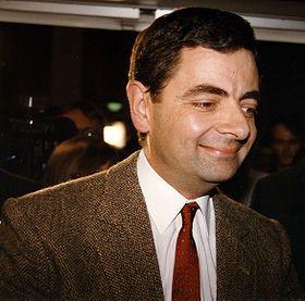 Rowan Atkinson dans son costume de Mr Bean