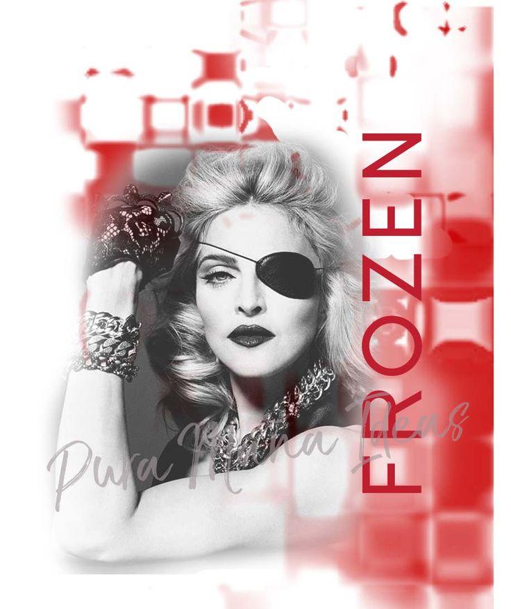 "Diseño ""Madonna, Frozen"" exclusivo de Pura Maña Ideas"
