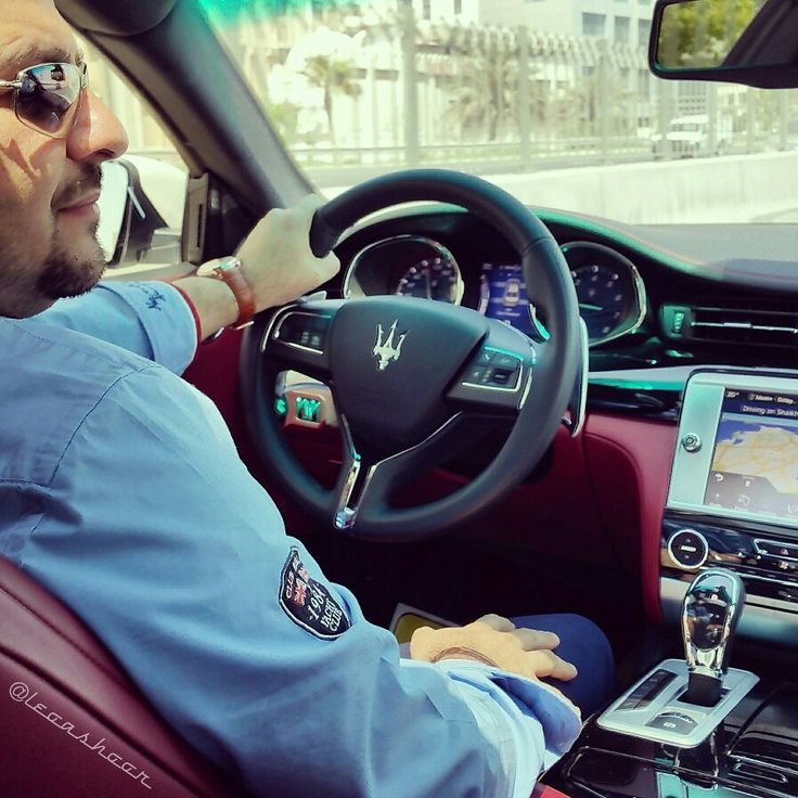 @leoashoor in my new #Maserati #Quattroporte #ItalianBeauty