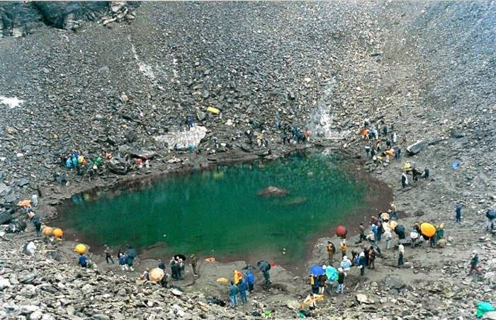 The Skeleton Lake of India ~ Mysteries of india