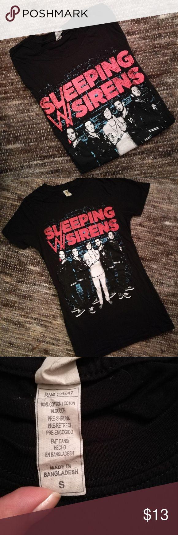 Black keys t shirt uk - Sleeping With Sirens Band T Shirt