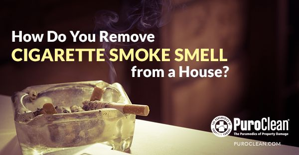 How Do You Remove Cigarette Smoke Smell From A House