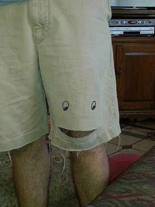 Your Shorts Seem Happy to See Me