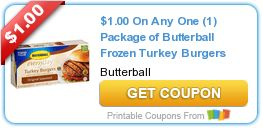 Tri Cities On A Dime: SAVE $1.00 ON ANY BUTTERBALL FROZEN TURKEY BURGERS...