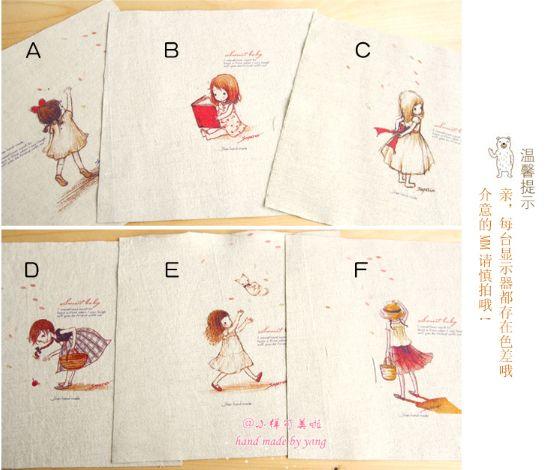 Летом хлопковой ткани сумки Handmade крашение хлопковый холст девушки поделки ручной работы декоративная живопись - Taobao
