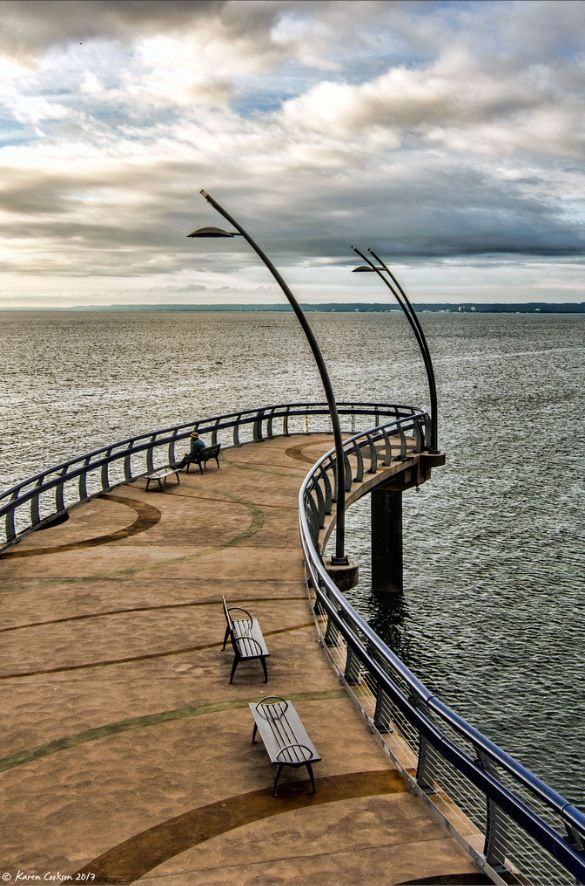 Just a few weeks remain until this beautiful Burlington sight will be free of snow and open for relaxation. Brant Street Pier - Burlington, Ontario, Canada