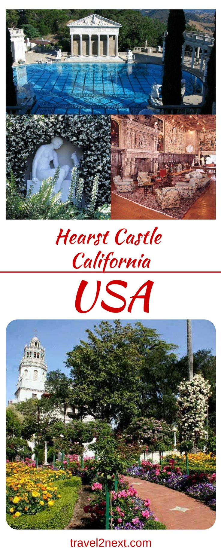 Hearst Castle – California. Hearst Castle has been through some changes in recent years.