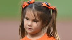 5-Year-Old Uses Robotic Hand to Throw First Pitch at Orioles Game