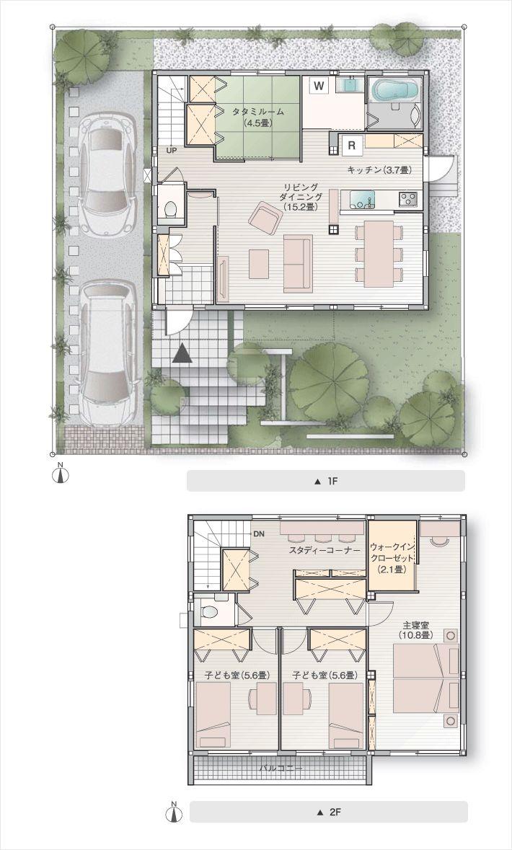 03:オープンプランで、広々とした空間を楽しむ家|セキスイハイム|新築一戸建てのクレスカーサ