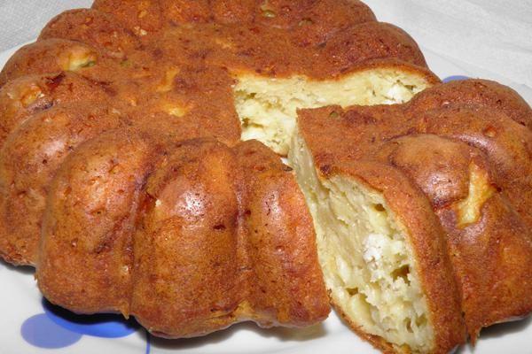 Αλμυρό κέικ με κοτόπουλο