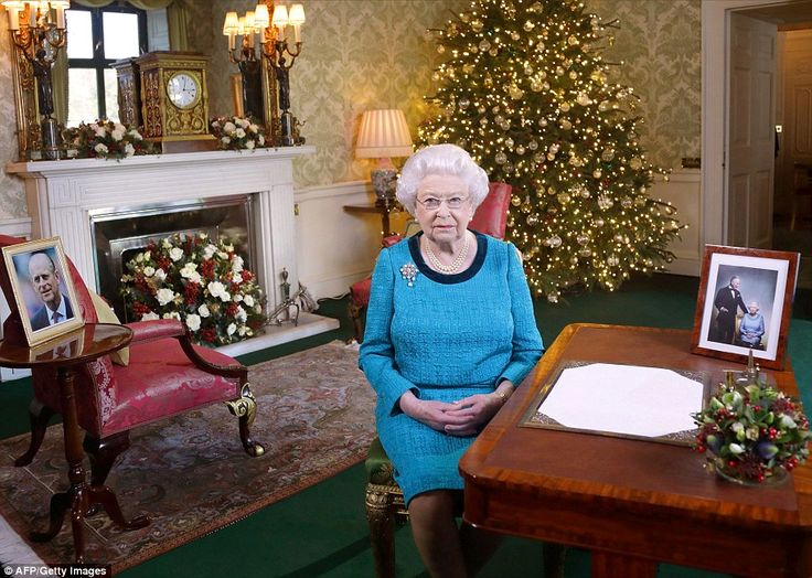In her Christmas  the Queen praised the 'inspirational' Team GB athletes  as well as the a...