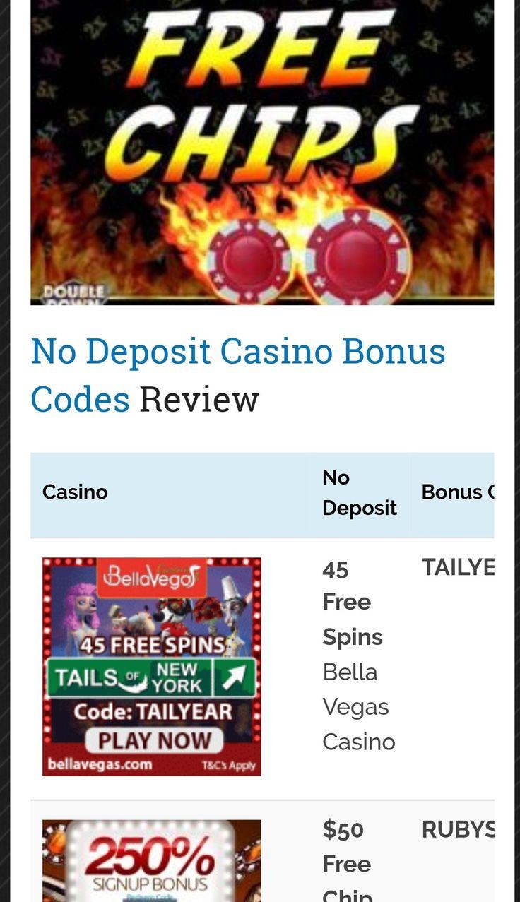 No Download Casino No Deposit Bonus Codes