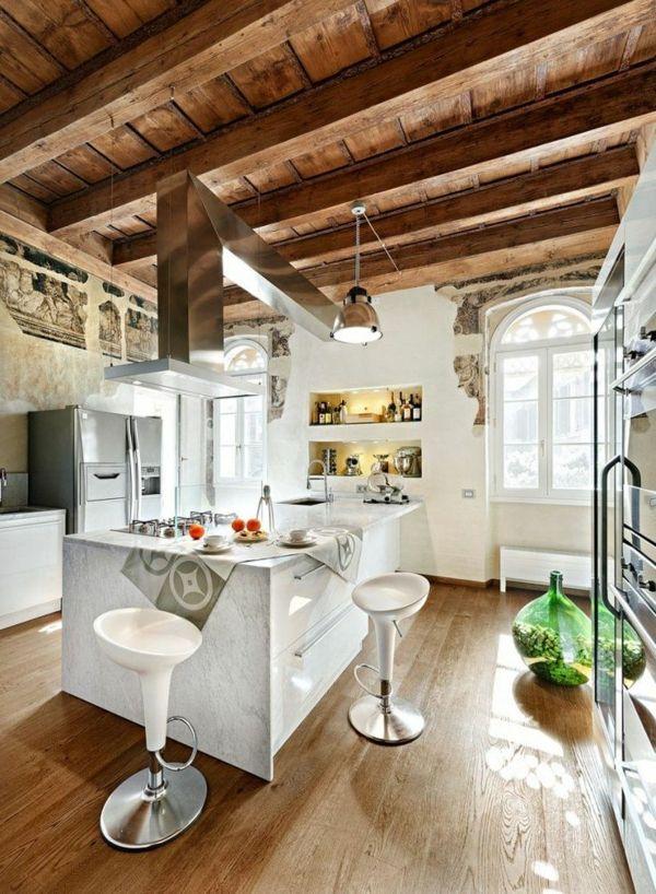 Meer dan 1000 afbeeldingen over hotte de poele op pinterest deco keuken metalen en atelier - Deco oude keuken ...