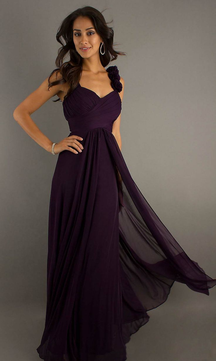 purple bridesmaid dress, long bridesmaid dress, chiffon bridesmaid, cheap bridesmaid dress | Cheap bridesmaid dresses Sale