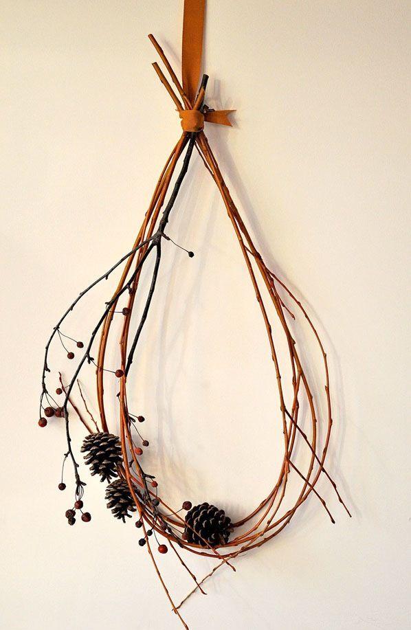 That's Happy: loving: twig wreaths