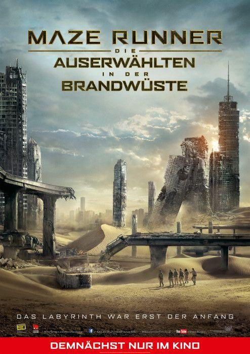 PREVIEW: MAZE RUNNER 2 (3D) * Mi., 23. September * Beginn: 20.15 Uhr * Infos & Tickets: www.thega-filmpalast.de #thega #filmpalast