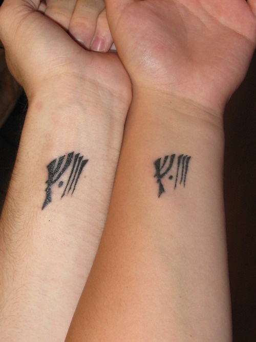 Lord Of The Rings Friendship Tattoos