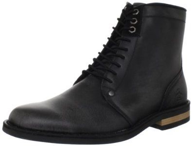 Original Penguin Men's Jerry Jeff Lace-Up Boot,Black Distressed,9 M US Original Penguin. $126.00